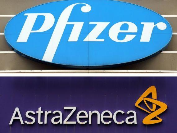 AstraZeneca respinge oferta de cumparare a Pfizer, de peste 100 miliarde de dolari