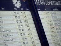 Trenurile de pe ruta Craiova - Drobeta Turnu Severin, afectate de inundatii