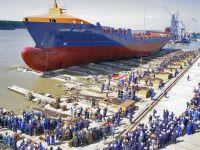 Santierul Naval din Mangalia a construit cea mai mare nava pentru transport de autovehicule din Marea Neagra si Mediterana, pentru o firma din Norvegia