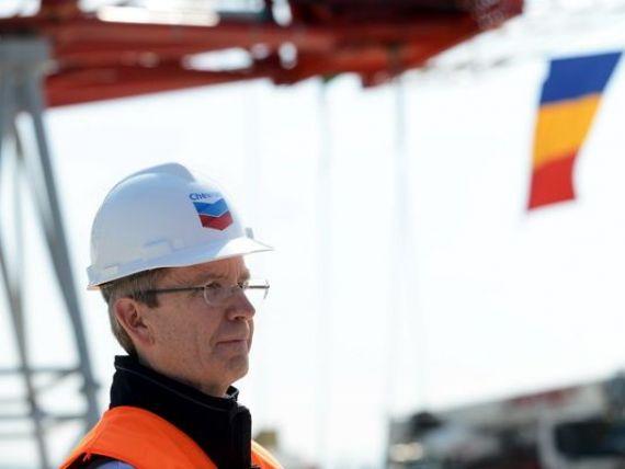 Chevron a inceput explorarea gazelor de sist la Pungesti, dupa luni de zile de proteste ale localnicilor