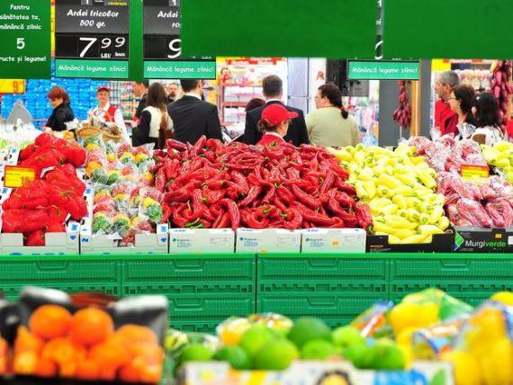 Painea, legumele si fructele sunt cel mai des intalnite alimente in cosul de cumparaturi