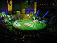 Tribuna unui circ din Vaslui s-a prabusit cu tot cu spectatori. Opt copii au fost raniti