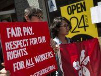 Angajatii lanturilor de restaurante fast-food protesteaza la nivel mondial pe 15 mai