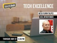 Florin Talpes vorbeste joi la Tech Excellence, un nou eveniment TechHub Bucharest