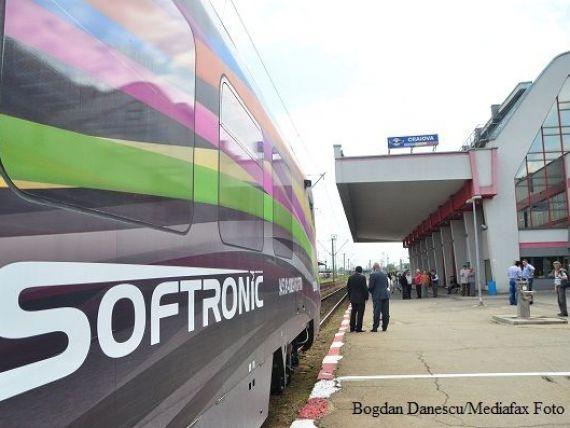 Trenul electric produs la Craiova a plecat in prima cursa. Cum arata Hyperion. FOTO