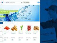 Carrefour a introdus plata in numerar, la primirea comenzii, pentru cumparaturile efectuate online