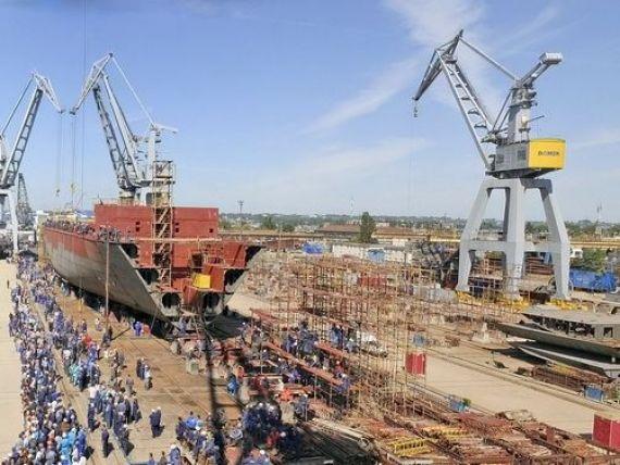 Santierul naval Tulcea va construi coca unei nave proiectate de Rolls-Royce, care va pleca in Islanda