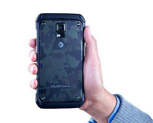 Samsung are un nou telefon Galaxy S5 si arata ca un  tanc . FOTO