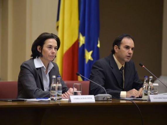 Oficialii FMI, din nou la Bucuresti, pentru a treia evaluare a acordului stand-by. Cea mai importanta tema de discutie: reducerea CAS cu 5%