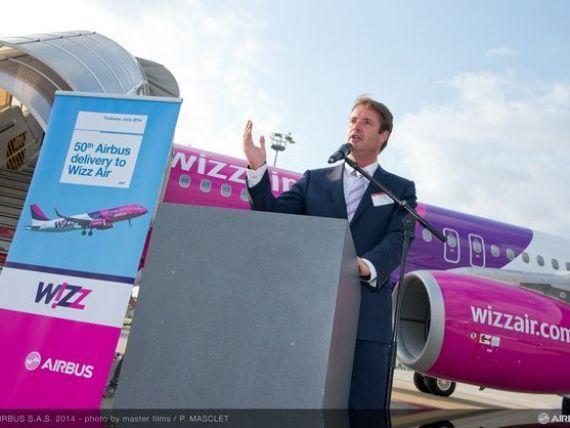 Wizz Air a achizitionat o noua aeronava A320, direct din fabrica Airbus de la Toulouse. Flota operatorului a ajuns la 52 de avioane. FOTO