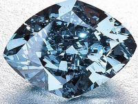Un diamant albastru rar ar putea dobori recordul de 35 de mil. de dolari pe piata de profil