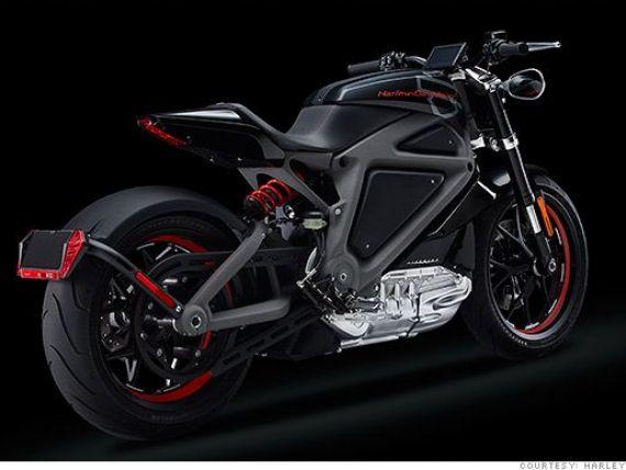 Harley-Davidson lanseaza prima motocicleta electrica