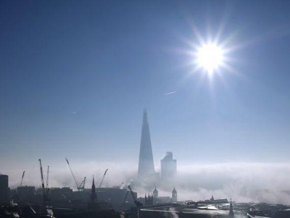 Londra,  ridicata  de puscariasi. Cererea de mana de lucru pentru constructiile din capitala Marii Britanii, la un nivel record. Piata imobiliara a explodat