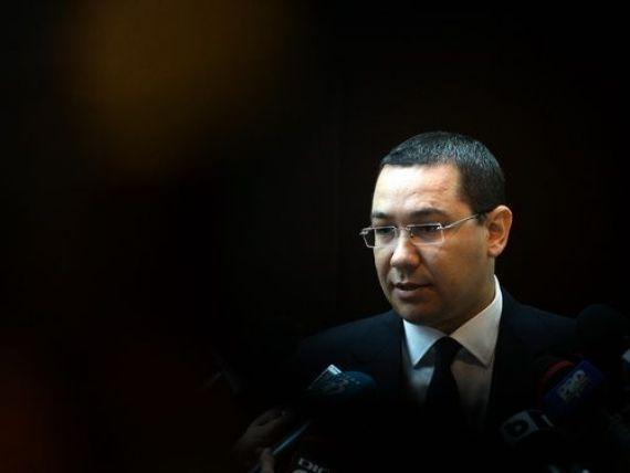 Ponta: Legea achizitiilor publice trebuie schimbata pentru a pune pe lista neagra firmele neserioase
