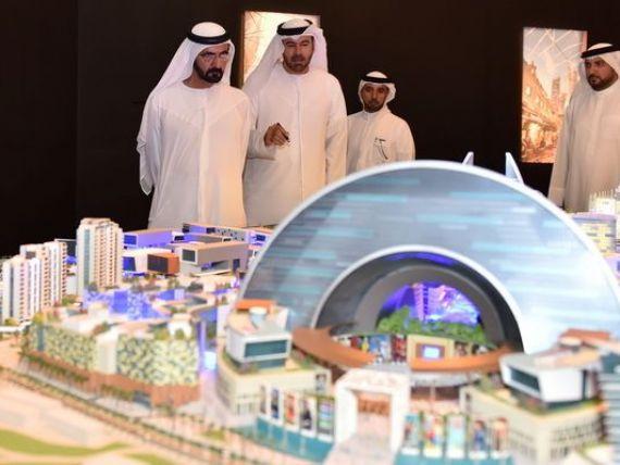 Mall of the World. Dupa Burj Khalifa, Dubai da o noua lovitura: cel mai mare mall din lume sau primul oras cu temperatura controlata de pe planeta. FOTO