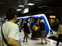 Metrorex a introdus in circulatie noile trenuri cumparate pentru 97 mil. euro. Cum arata si ce nume au. FOTO