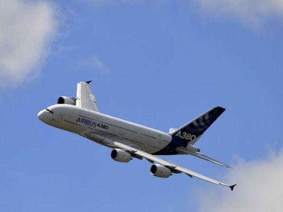 Comenzi de 21 mld. dolari pentru Airbus, in prima zi a salonului aeronautic de la Farnborough. Rivalul Boeing obtine de 3 ori mai putin