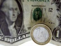 Leul s-a depreciat in raport euro, dolarul american si francul elvetian. Cursul BNR a crescut cu aproape un ban si jumatate, peste 4,3 lei/euro