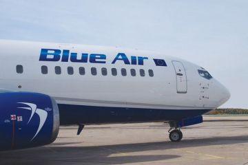 Blue Air vinde bilete cu prețuri începând de la 9,99 euro, în acest weekend