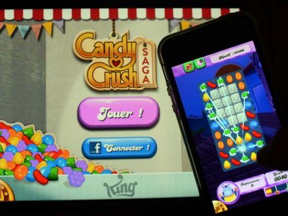 Bula Candy Crush s-a spart. Vanzarile in scadere au dus la prabusirea cu 19% a actiunilor producatorului de jocuri video pe bursa