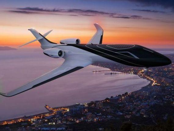Zborul cu avionul ar putea sa nu mai fie niciodata la fel ca acum. Aeronava fara ferestre, cu fuselaj complet  transparent . Imaginile care te vor lasa fara cuvinte. GALERIE FOTO