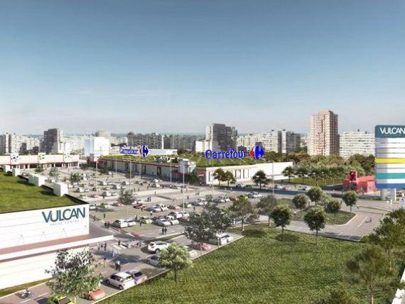 Fondul sud-african NEPI inaugureaza parcul comercial Vulcan, in cartierul Rahova, dupa o investitie de 47 mil. euro. Carrefour, H M, C A, Domo si Takko, printre chiriasi