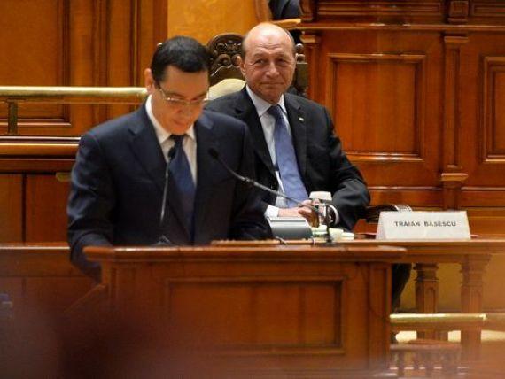 Basescu: Daca Romania nu isi respecta angajamentele, riscul de derapaj economic este major. Exista un sentiment al unui impas in relatia dintre Romania si FMI, si implicit CE si BM