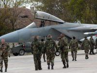 Aeronave de lupta NATO si 200 de militari, piloti si mecanici vor stationa pe teritoriul Romaniei. Basescu: Tara noastra, posibil stat coordonator in proiectul de sprijin pentru Ucraina