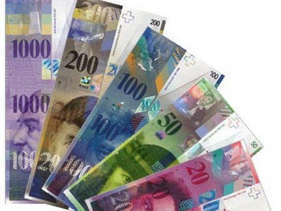 Banca Nationala a Elvetiei a pierdut aproape 32 mld. dolari din cauza aprecierii francului