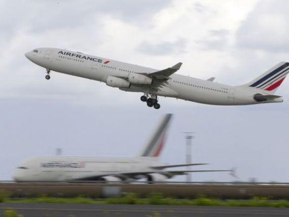 Greva pilotilor de la Air France, de saptamana viitoare, va aduce companiei pierderi de pana la 15 milioane euro pe zi