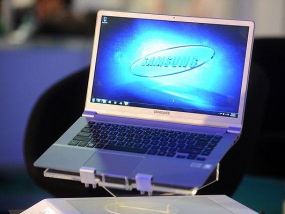 Samsung renunta la vanzarile de laptopuri in Europa, ca urmare a concurentei acerbe din partea Apple si Lenovo