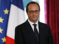 Hollande il invita pe Iohannis la Paris: Impreuna cu dvs., imi doresc sa construim o Europa mai prospera