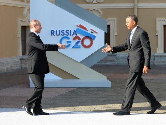 Putin il acuza pe Obama de atitudine  ostila  fata de Moscova.  Tentativa de a exercita santaje asupra Rusiei este imprudenta
