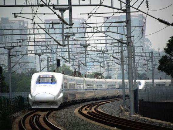 Rusia si China vor sa construiasca o cale ferata de super viteza intre Moscova si Beijing, cea mai lunga din lume