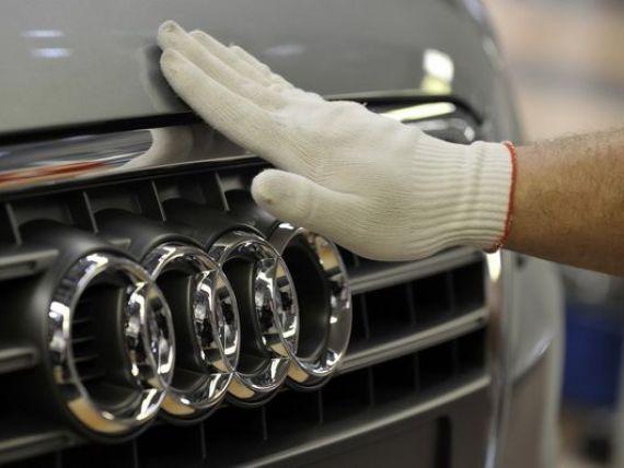 Audi, divizia de lux de la Volkswagen, va produce maşini electrice în China printr-o societate mixtă înfiinţată cu grupul chinez FAW