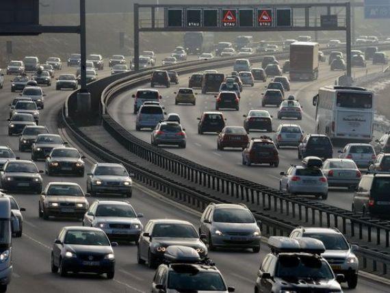 Soferii straini care circula pe autostrazile Germaniei vor fi taxati cu pana la 130 euro pe an