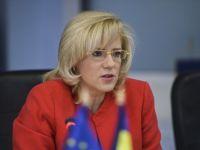 """Corina Cretu, in prima vizita oficiala in Romania, in calitate de comisar european. Care sunt """"nevoile stringente"""" identificate de CE pentru tara noastra"""