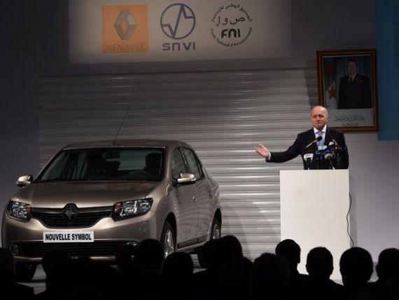 Renault a deschis o uzina in Algeria, unde va fi produs noul model Symbol. Angajatii au fost scoliti in Romania