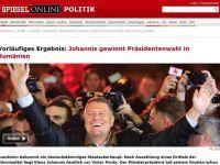 """Klaus Iohannis, pe prima pagina in presa germana: """"O surpriza si o victorie istorica"""". Ce scriu agentiile straine despre alegerile de la Bucuresti"""