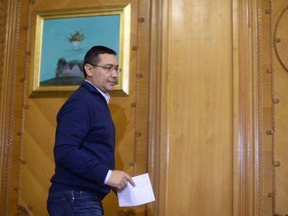 Ponta intra in concediu dupa alegerile pierdute. Oprea va conduce Guvernul - surse