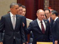 """Rusia a intrat in recesiune. Obama: """"In urma cu 3-4 luni, toata lumea era convinsa ca Vladimir Putin era un geniu. Acum, au inceput sa creada ca nu a fost prea inteligent"""""""