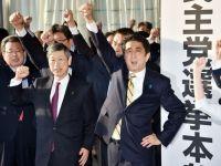 Criza politica la Tokyo, dupa ce a treia putere economica a lumii a reintrat in recesiune. Camera inferioara a Parlamentului japonez a fost dizolvata oficial