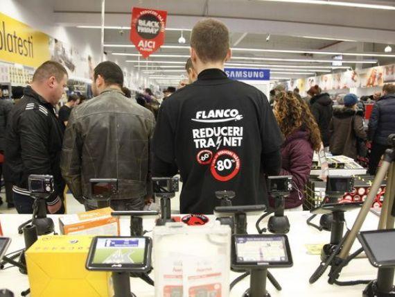 Flanco a inregistrat vanzari de 98 milioane lei in perioada Black Friday, cu 40% mai mult fata de 2013, dar mai putin decat estima