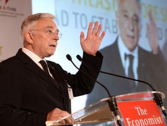 Isarescu: Grecia este un pericol mare, BNR ia in considerare o eventuala iesire din zona euro, dar contaminarea sistemului bancar va fi limitata