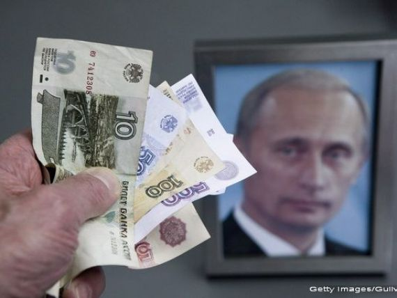 Economia Rusiei este oficial in criza. Moody rsquo;s a scazut ratingul tarii la Baa3, cu doar o treapta deasupra categoriei  junk