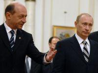 """Basescu anunta ca va sustine, la Consiliul European, cresterea nivelului sanctiunilor impuse Rusiei: """"Usor, usor domnul Putin o sa renunte la aroganta"""""""