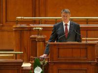 """Klaus Iohannis a depus juramantul de investitura in functia de presedinte. """"Trebuie sa ne apucam de treaba. Nu exista alta cale pentru Romania decat aceea a unei tari eliberate de coruptie"""""""