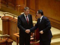 Ce a discutat Ponta cu Iohannis, la Palatul Cotroceni. Intalnirea a avut ca subiecte bugetul de stat si alocarea pentru Aparare
