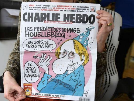 Charlie Hebdo, saptamanalul satiric unde a avut loc atacul terorist de la Paris, cunoscut pentru prezentarea unor caricaturi cu profetul Mahomed