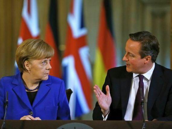 Merkel nu face concesii in ceea ce priveste imigratia in interiorul UE. Cameron:  Sunt de acord cu libera circulatie. Ceea ce nu pot accepta este abuzul